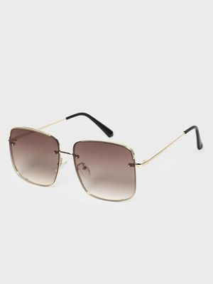 KOOVS Tinted Square Sunglasses
