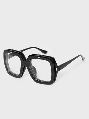 KOOVS Double Frame Square Sunglasses