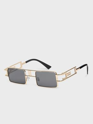KOOVS Metal Frame Square Sunglasses
