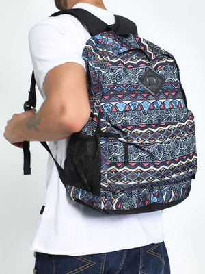 KOOVS Tapestry Print Backpack