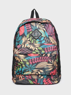 KOOVS Floral Print Backpack