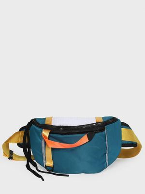 KOOVS Contrast Tape Sports Fanny Pack