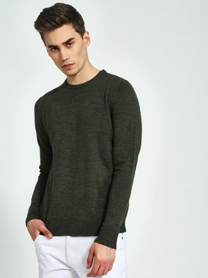 Brave Soul Crew Neck Knitted Pullover
