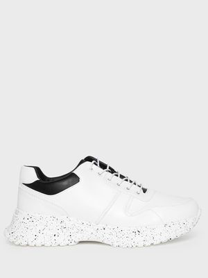 Kindred Splatter Print Chunky Sole Trainers