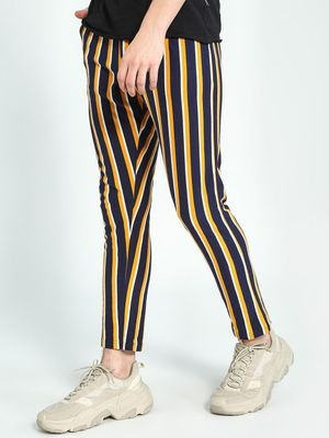 Garcon Yarn-Dyed Vertical Stripe Trousers