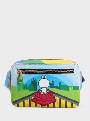 Manish Arora Paris X KOOVS Tuzki Print Bum Bag