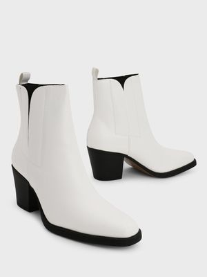 Truffle Collection Pointed Toe Heeled Boots