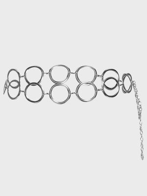 KOOVS Geometric Hoop Detail Belt