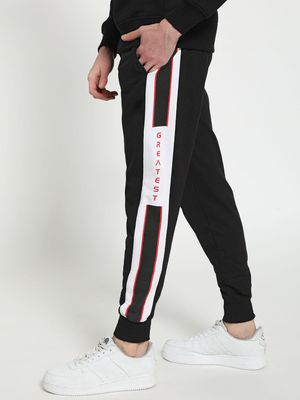 Tiktauli Printed Side Tape Joggers