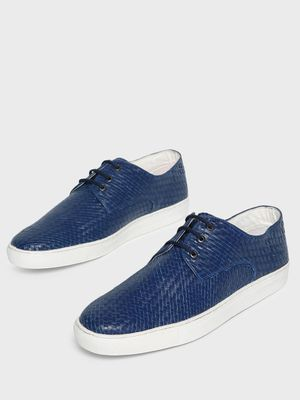 Bolt Of The Good Stuff Handwoven Lace-Up Casual Shoes