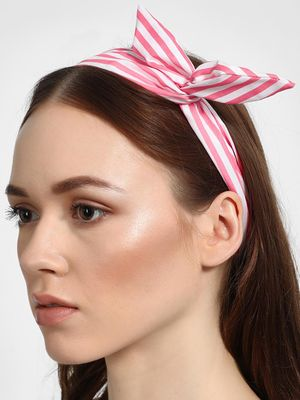 Funky Fish Striped Tie-Knot Headband