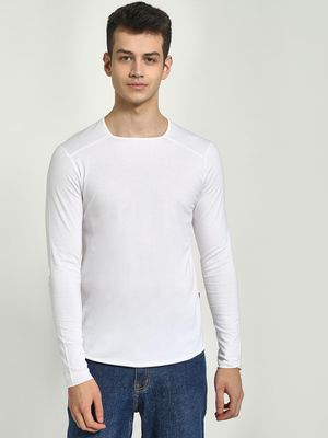 KOOVS Muscle Fit Long Sleeve T-Shirt