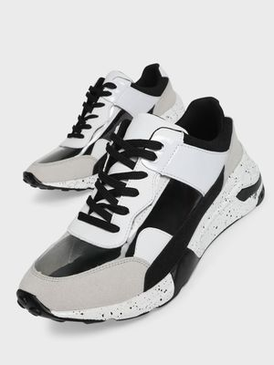 Sole Story Perspex Chunky Sole Trainers