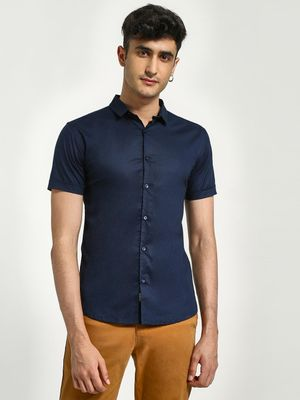 KOOVS Muscle Fit Short Sleeve Shirt