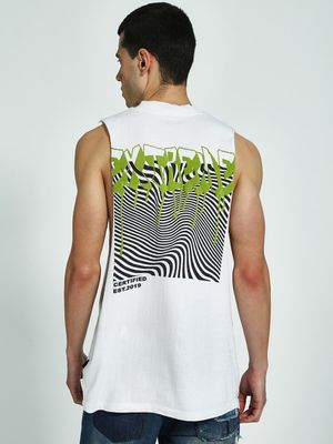 KOOVS Graphic Placement Print Tank