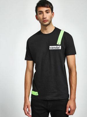 Garcon Velcro & Zip Patch Crew Neck T-Shirt
