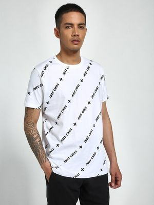 Garcon Just Chill Print T-Shirt