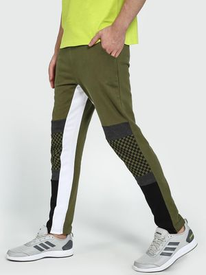 Garcon Checkerboard Panel Side Tape Jog Pants