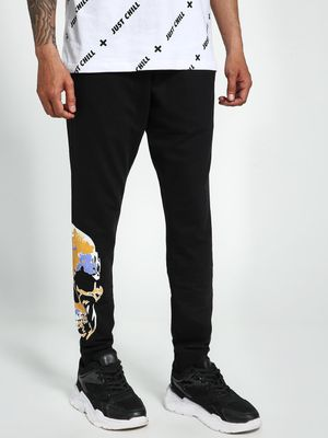Garcon Skull Placement Print Joggers