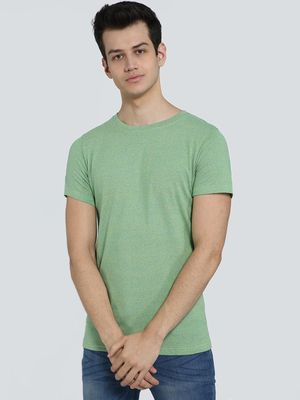 AMON Textured Crew Neck T-Shirt