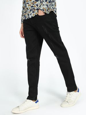 REALM Distressed Slim Jeans