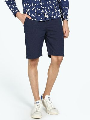 REALM Dot Print Slim Shorts