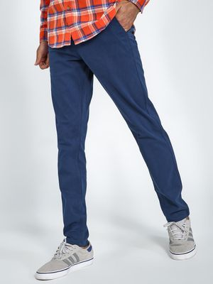 Blue Saint Basic Slim Fit Trousers