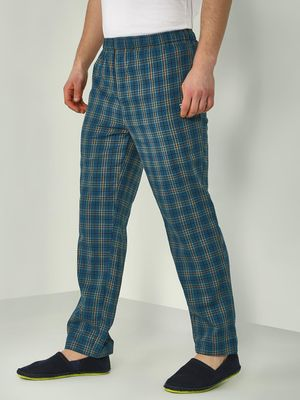 TRUE RUG Multi Checks Jog Pants