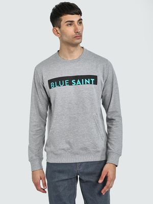 Blue Saint Logo Placement Print Sweatshirt