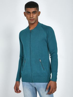 Blue Saint Long Sleeve Zipper Pullover