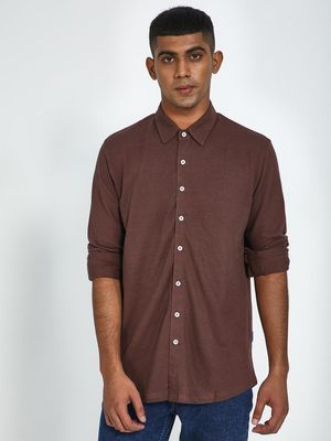 Blue Saint Basic Casual Shirt