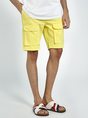 Blue Saint Basic Utility Pocket Shorts