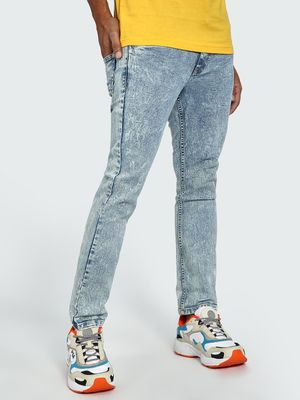 Blue Saint Stone Washed Slim Fit Jeans