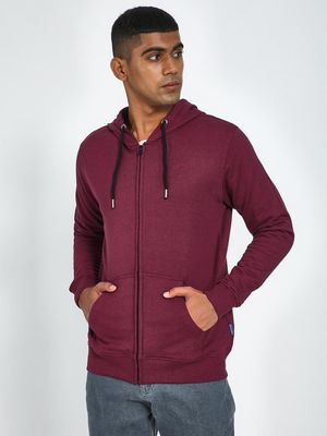 Blue Saint Twin Pocket Zip Up Hoodie