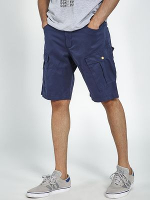Blue Saint Cargo Fit Shorts