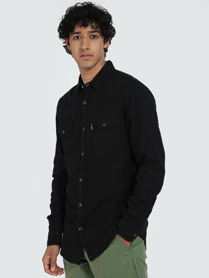 Blue Saint Twin Pocket Denim Shirt