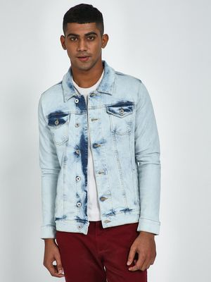 Blue Saint Light Wash Regular Fit Denim Jacket