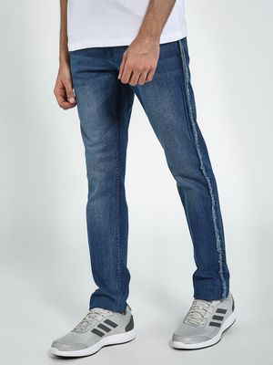 Blue Saint Raw Edges Slim Fit Jeans