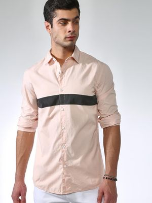 Blue Saint Men's Slim Fit Casual Shirt