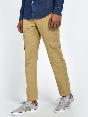 Blue Saint Utility Cargo Pockets Slim Trousers