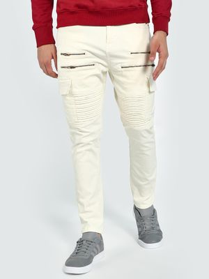 Blue Saint Biker Panel Utility Slim Jeans