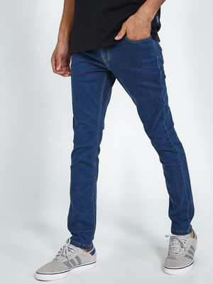 Blue Saint Mid Blue Slim Fit Jeans