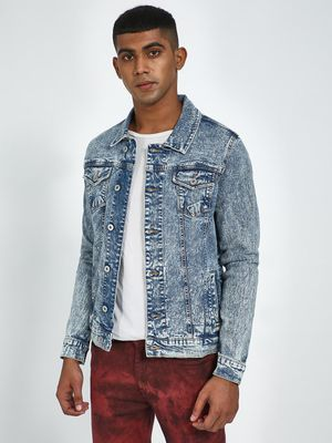 Blue Saint Slim Fit Denim Jacket