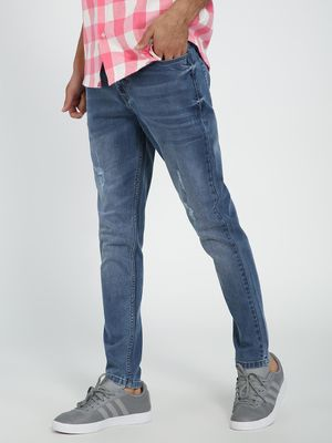 REALM Light Wash Slim Jeans