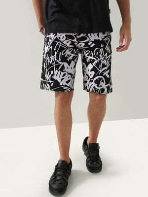 REALM Printed Casual Shorts