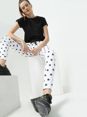 Kultprit All Over Star Print Joggers