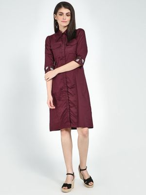 Femella Twin Pocket Shirt Dress