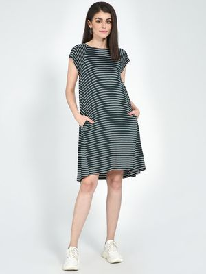 Femella Horizontal Stripe Dress