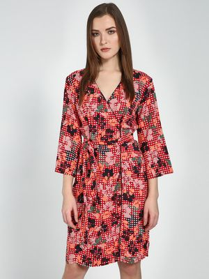 Femella Multi Floral Print Dress
