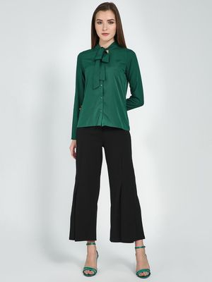 Femella Flared Hem Trousers